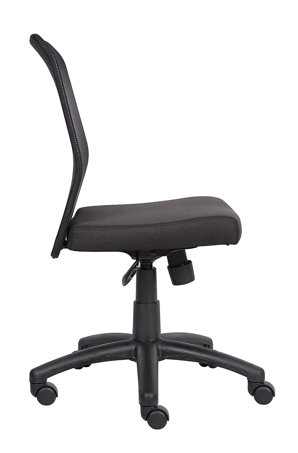 Amazon.com: Boss Office Products B6105 Budget Mesh Task Chair Without Arms  In Black: Kitchen U0026 Dining