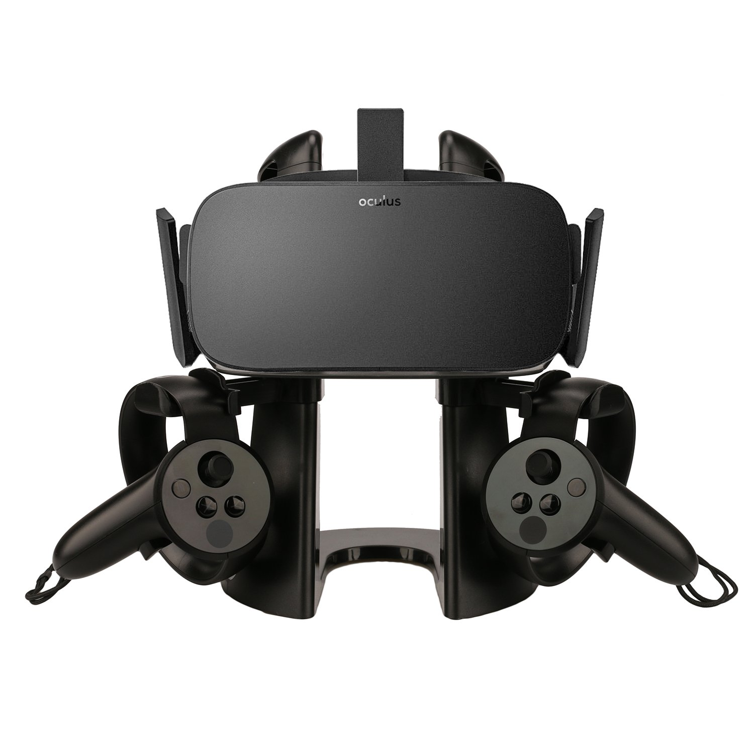 AMVR VR Stand,Headset Display Holder and Controller Mount Station for Oculus Quest, Quest 2, Rift or Rift S Headset and…