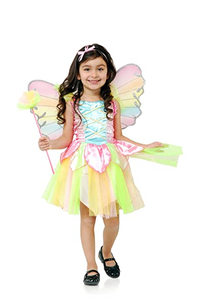 Charades Rainbow Princess Fairy Costume NA Toddler  sc 1 st  Amazon.com & Amazon.com: Charades Rainbow Princess Fairy Costume NA Toddler ...