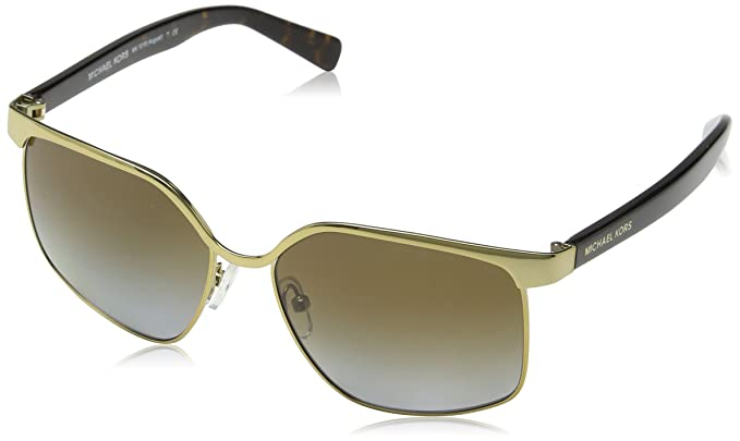 Amazon.com: Michael Kors mk1018 1145t5 56 MM anteojos de sol ...