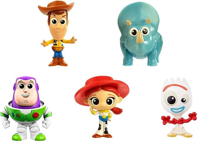 Disney Toy Story 4 Pack de 5 Mini Figuras de la Película, Juguetes Niños +3 Años (Mattel GDL64): Amazon.es: Juguetes y juegos