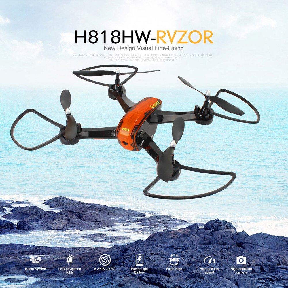 Goolsky Flytec H818HW 720P 120 ° cámara de ángulo ancho Wifi FPV 6 ...