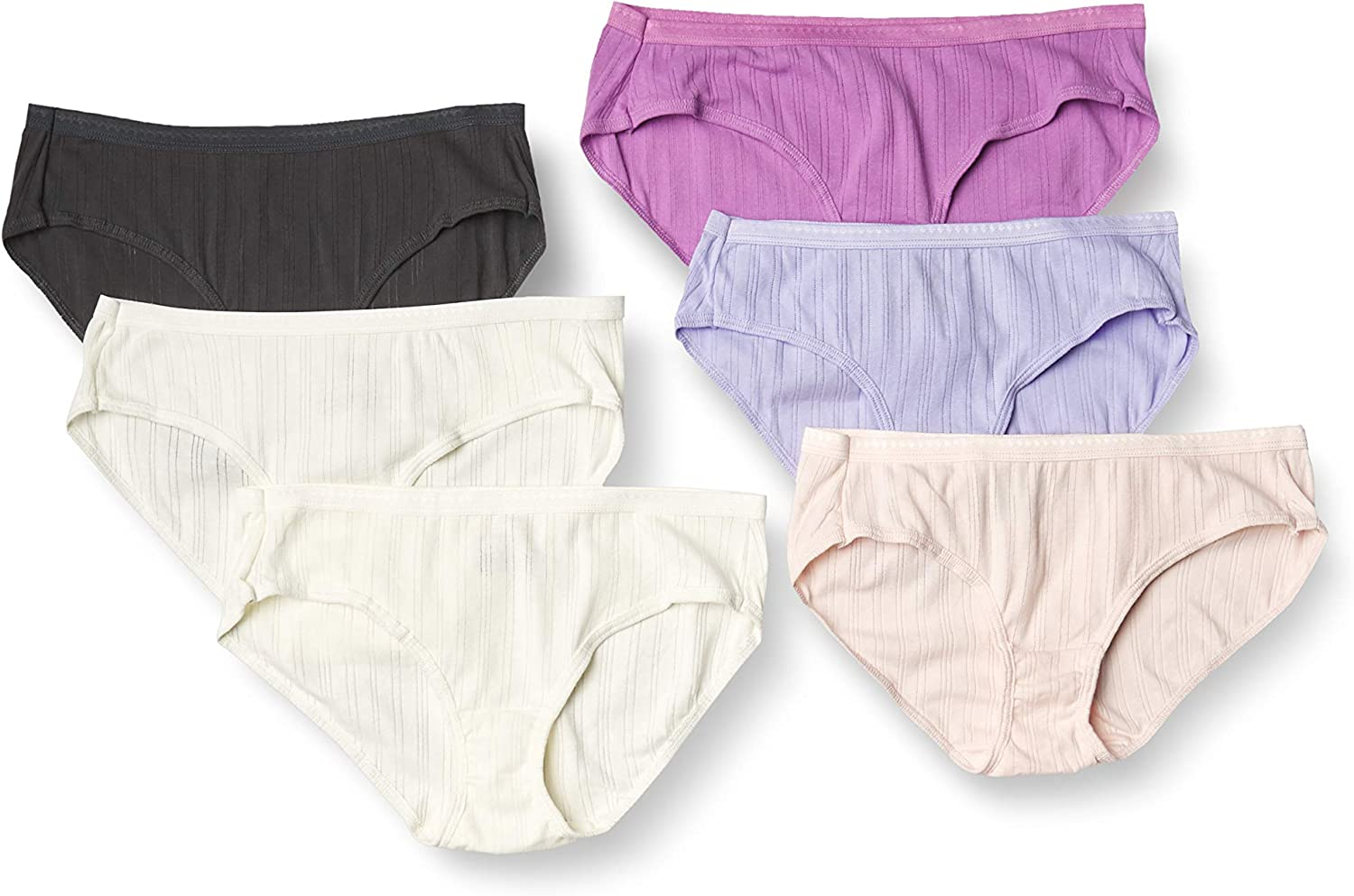 Hanes Ultimate Women's Cool Comfort Hipsters Multipack: Clothing