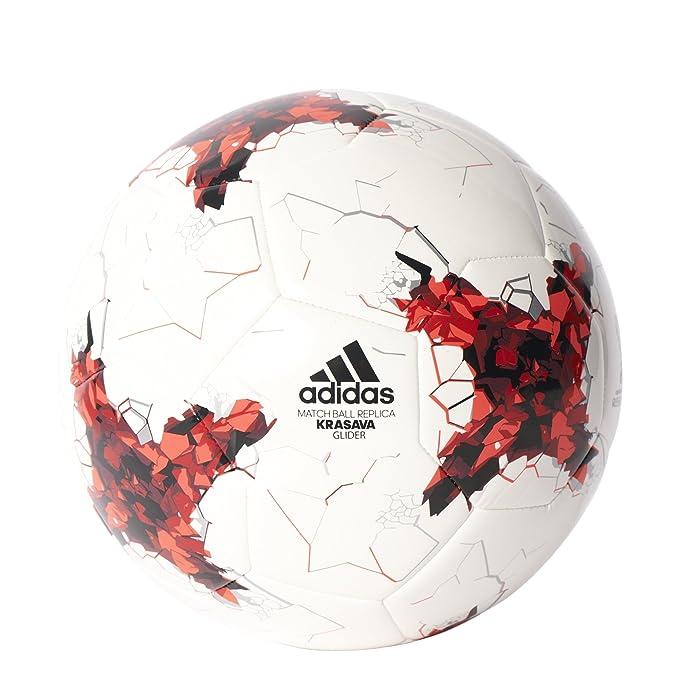 adidas Confed Glider Balón, Hombre, 4: Amazon.es: Deportes y aire ...