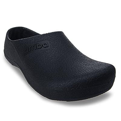 Arriba Men Women Unisex Non Slip Work Heavy Duty Slip On Shoe: Shoes