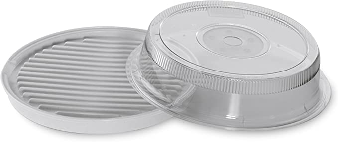 Nordic Ware Microwave 2-Sided Round Bacon and Meat Grill - Fantastic Sheerness