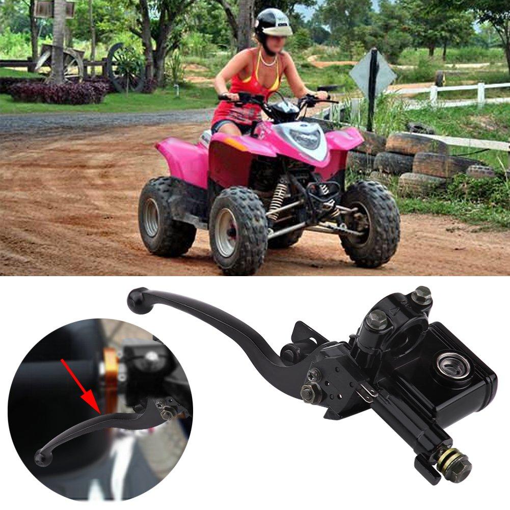 Cilindro Principale del Freno 7//822mm Frizione Anteriore Sinistra Pompa Frizione Cilindro Principale per 50cc 110cc 150cc Quad Dirt Bike ATV