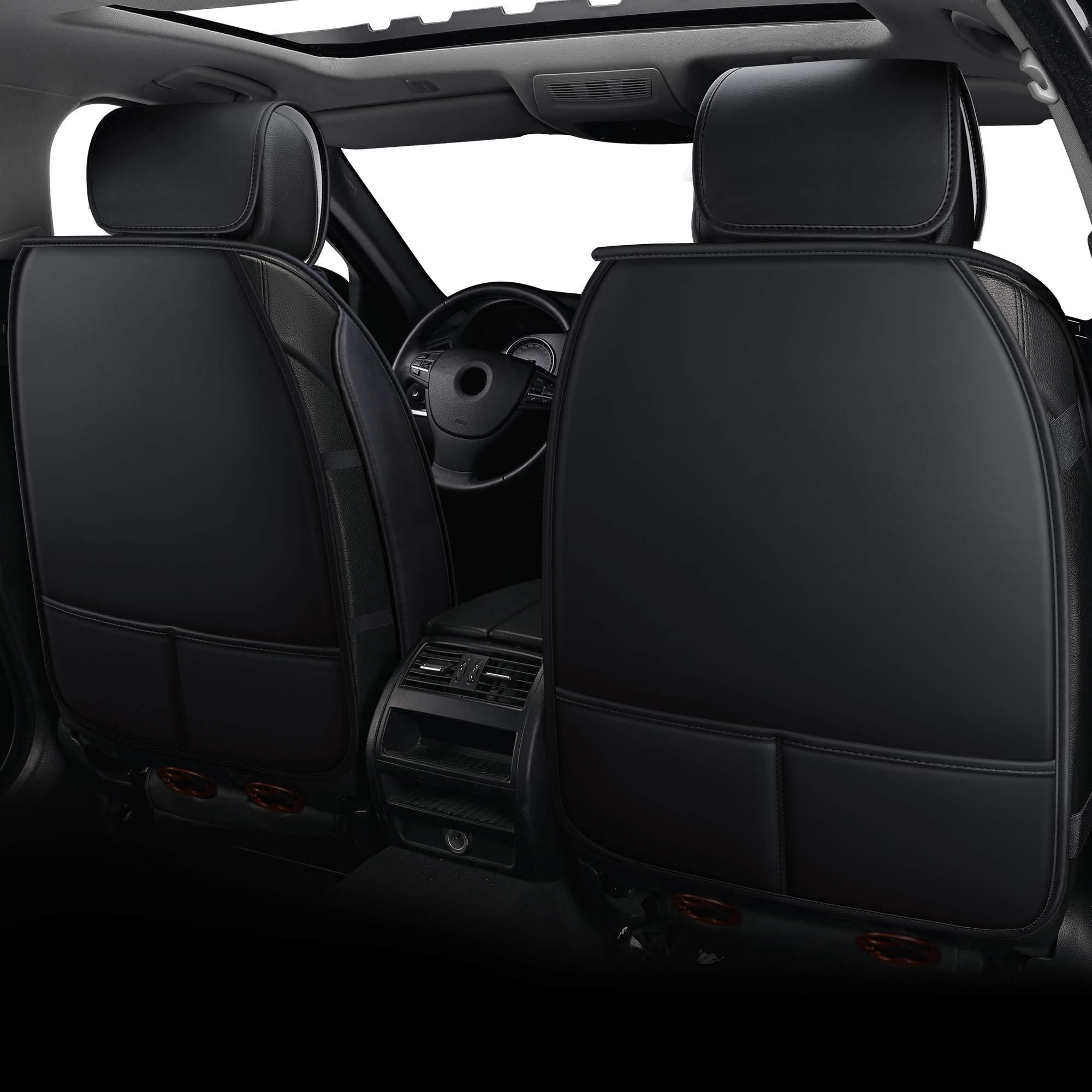 CarsCover Custom Fit 2017-2018 Dodge Ram 1500 2500 3500 Pickup Truck Neoprene Car Front Seat Covers Gray /& Black Sides Driver /& Passenger Cover