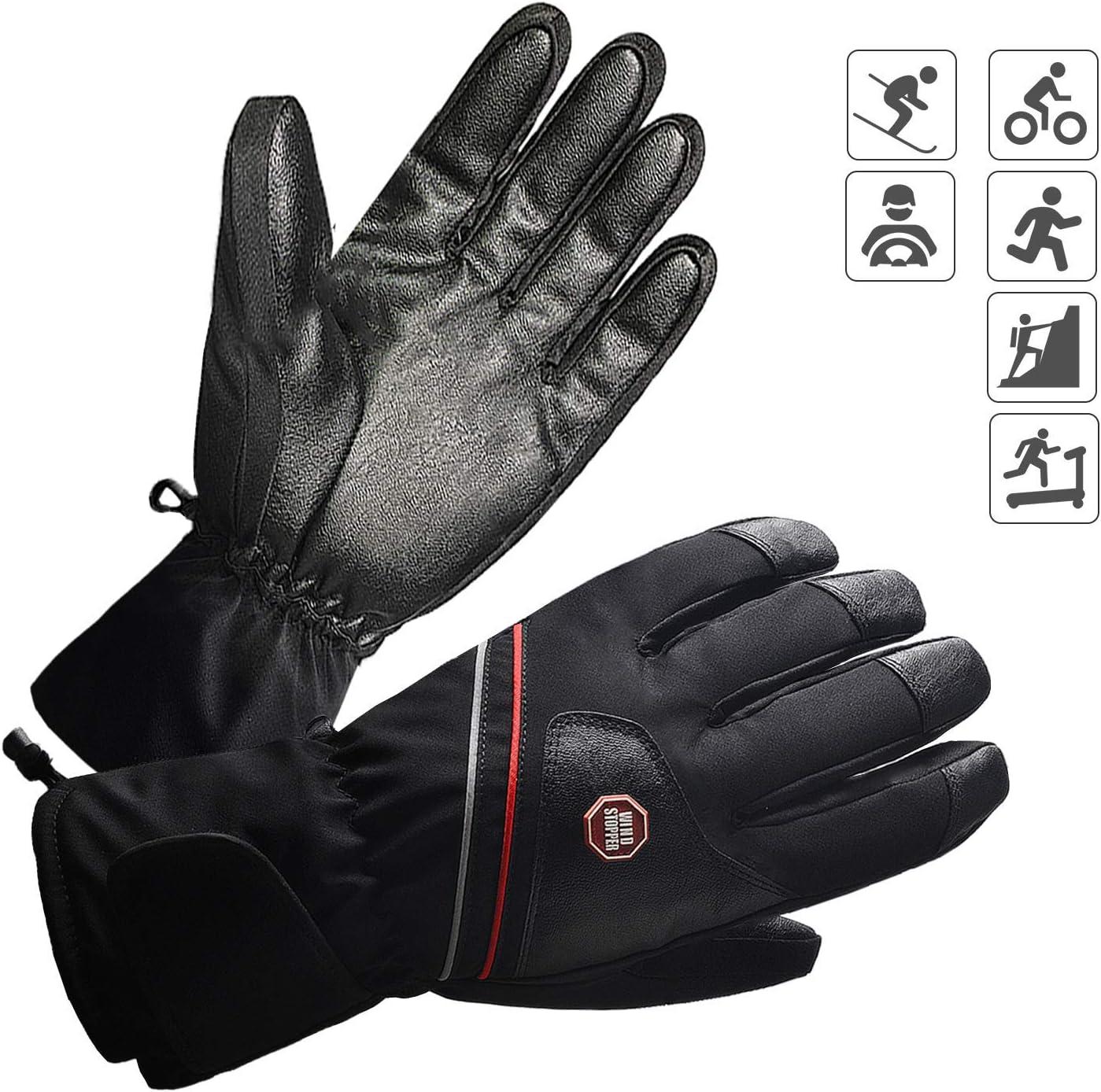 BIAL Fahrradhandschuhe Laufhandschuhe W/ärme Handschuhe Leicht Touchscreen Handschuhe rutschfest Winddicht Fitness Camping Wandern Reiten Bergsteigen Winter Sport Handschuhe Damen Herren