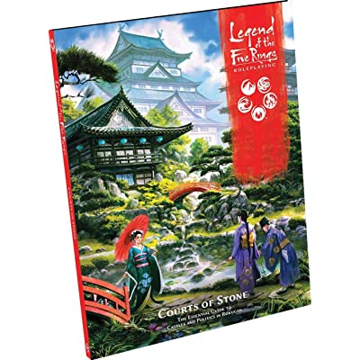 Legend of The Five Rings RPG: Courts of Stone: Toys & Games