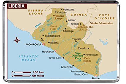 Amazon m114 map of liberia fridge magnet liberia travel m114 map of liberia fridge magnet liberia travel refrigerator magnet freerunsca Gallery