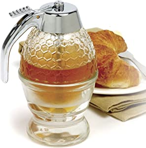 NORPRO 780 1 Cup Bee Hive Honey Syrup Dispenser Jar With Stand