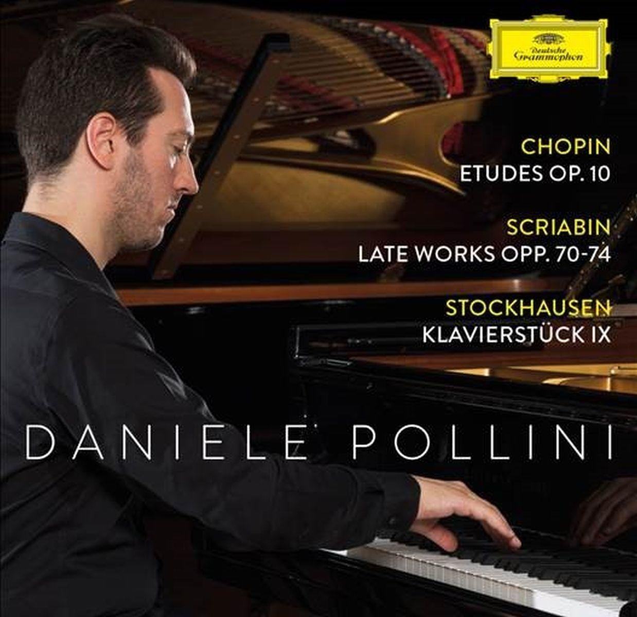 CD : Daniele Pollini - Etudes Op 10 / Scriabin: Late Works Opp 70-74
