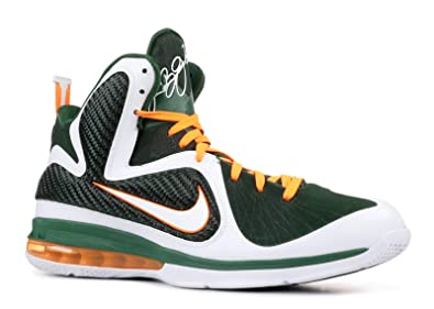4701cfecfba Image Unavailable. Image not available for. Color  Lebron 9  Miami  Hurricanes  - 469764-102 ...