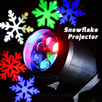 Amazon gemmy multi color outdoor led laser light show gemmy multi color outdoor led laser light show projection snowflake christmas holiday moving light outdoor aloadofball Images