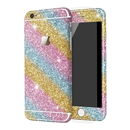 best service bf013 35bda DStores for iPhone 6 plus/6S Plus 5.5 inch Sticker, Full Body Sticker Case  for iPhone 6 plus/6S Plus Matte Decals Luxury Bling Sparkly Screen ...
