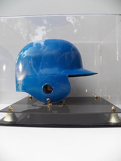 Amazon.com: Casco de bateo de béisbol Display Case con dos ...