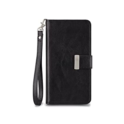 8387be45d6b ... IZENGATE Samsung Galaxy Note 4 Wallet Case - Executive Premium PU  Leather Flip Cover Folio with ...