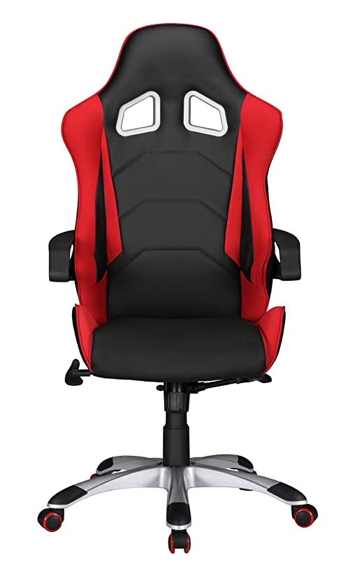 Designer chefsessel  Amstyle office chair SPEED Red Racing Chefsessel Racer swivel ...