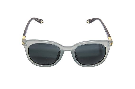 b506c90bddc Amazon.com  Vintage Sunglasses Round Browline Frame Men Grey  Clothing