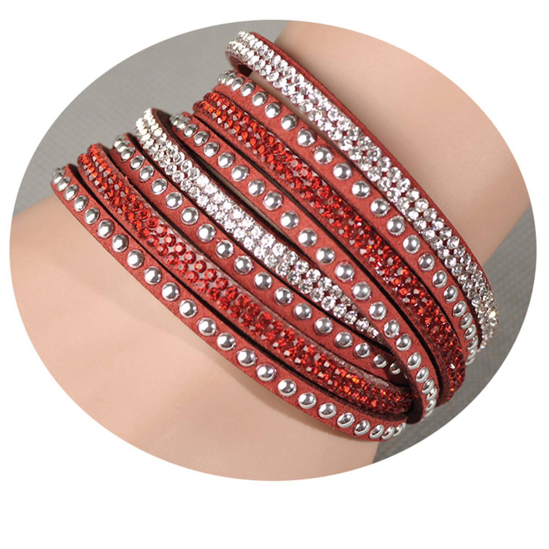 Fashion Wrap Bracelet Multilayer Bracelets 6 Colors to Choose for Women Gift
