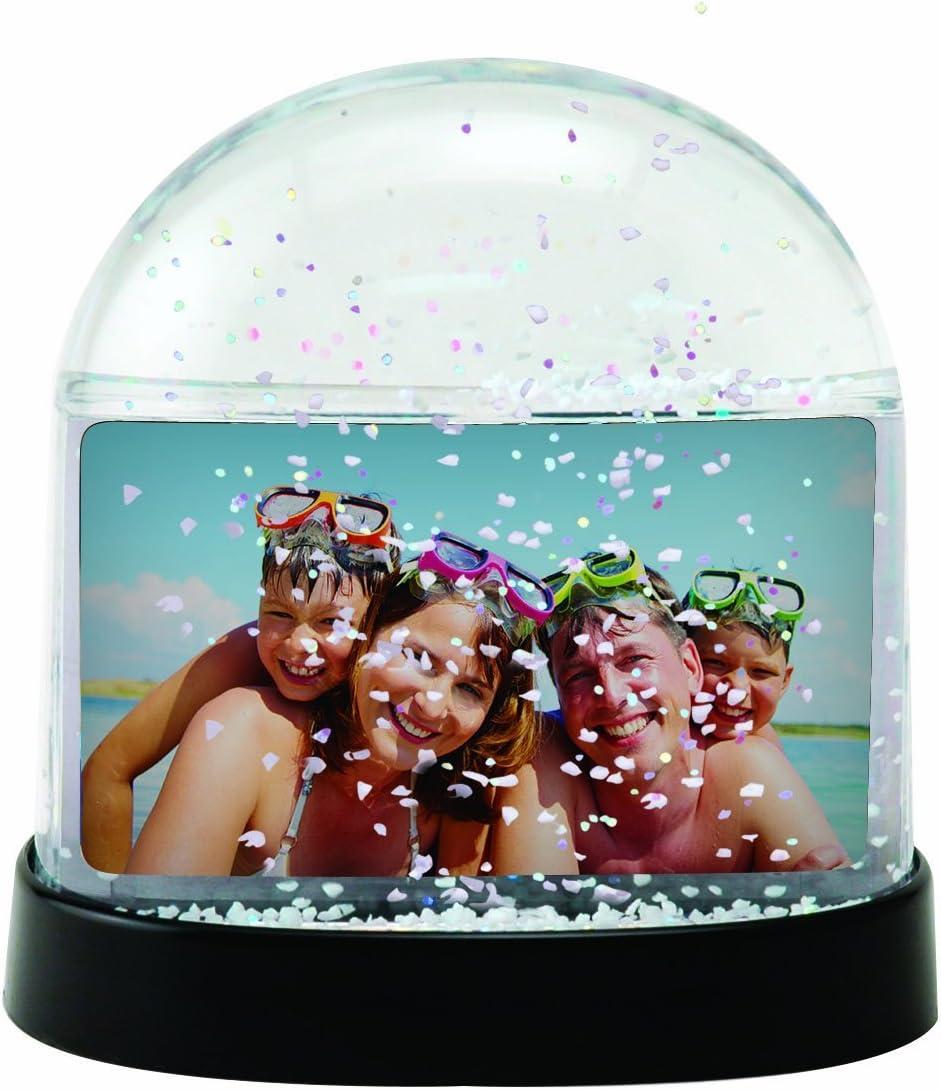 Neil Enterprises Clear Horizontal Photo Snow Globe – Case of 36