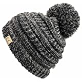 Amazon Price History for:Funky Junque's CC Kids Baby Toddler Cable Knit Children's Pom Winter Hat Beanie