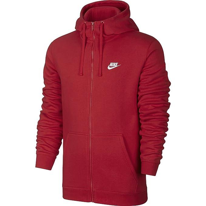 919bde2073 Nike M NSW Hoodie FZ FLC Club Felpa da Uomo: Amazon.it: Abbigliamento