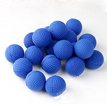 Round Refill Pack Replace Bullet Balls for Nerf Rival Apollo Zeus Kids Toy Gun