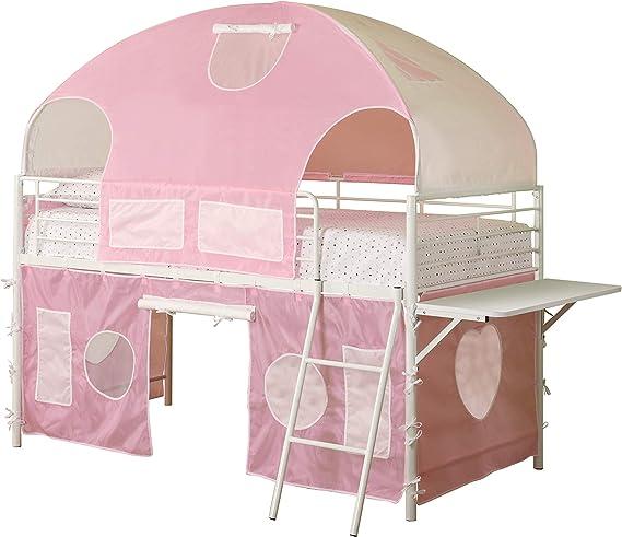 4 Wooden Polka Dot Heart 10.5x10.5cm Coaster Set /& Stand /'Home Sweet Home/'