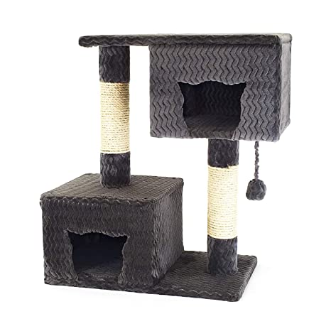 Amazon.com: Rightitem Cat Scratching Condo poste de árbol de ...