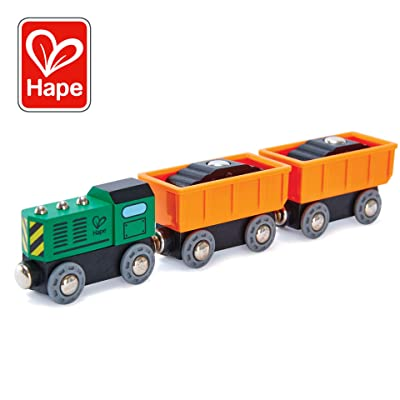 Hape Railway Diesel Freight Train: Toys & Games