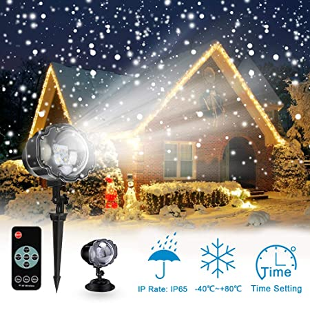 E-foxer Decoraciš®n Pared Foco lš¢mpara del proyector Paisaje LED ...