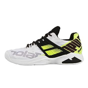 Babolat Hombres Propulse Fury Clay Zapatillas De Tenis Zapatilla Tierra Batida Blanco - Negro 45: Amazon.es: Deportes y aire libre