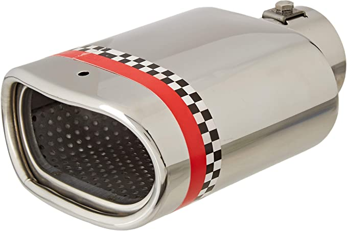 ER027 - Acero inoxidable de tubo de escape del tubo de escape de para atornillar Embellecedor de tubos de escape universales el absorbedor