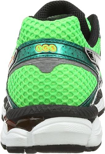ASICS Gel Cumulus 16 - Zapatillas de deporte para hombre, color verde, talla 50.5 EU (14 UK): Amazon.es: Zapatos y complementos