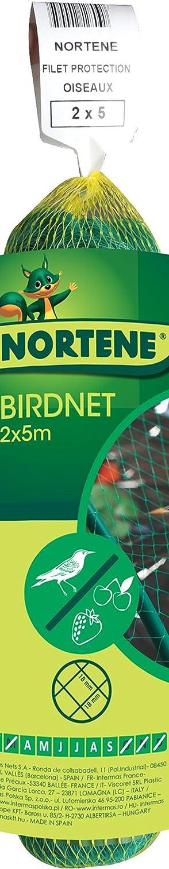 Nortene 120005 - Malla Antipajaros Birdnet 5380/2X05M Vde