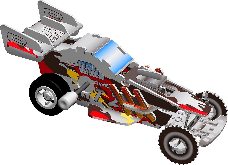 Smithsonian Mini 4 Dune Buggy 3D Build /& Play Motorized Puzzle Skullduggery Inc