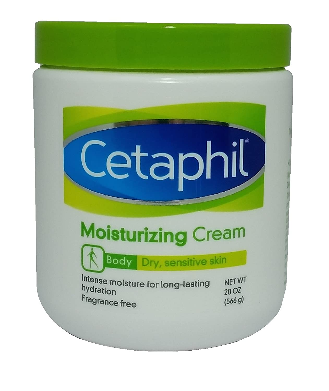 (2) Jars 40oz 1132g Cetaphil Moisturizing Skin Cream Pack of 2x 20oz 71ed4OYkrVL