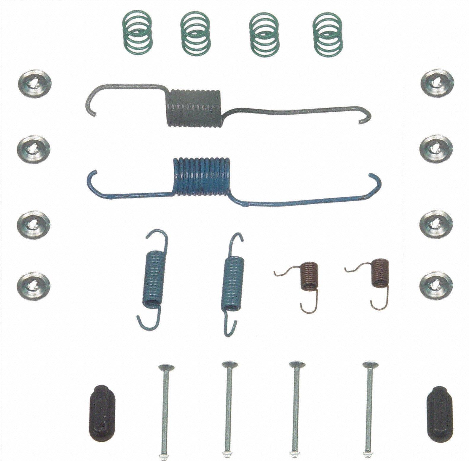 Wagner H17199 Drum Brake Hardware Kit, Rear