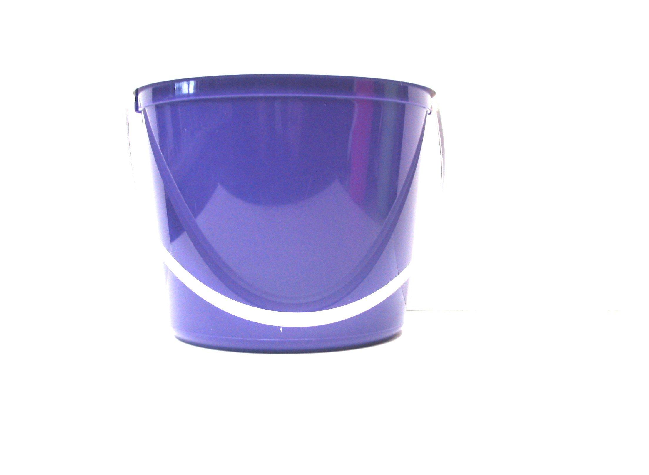 Talisman, Plastic Buckets & Lids, 80 Ounces, 3 Pack, Purple by Talisman (Image #2)