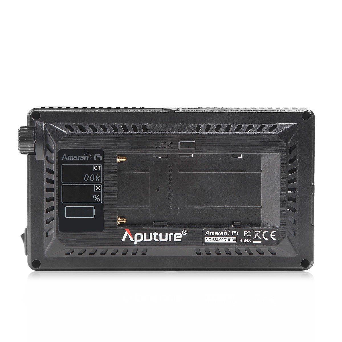 Aputure Amaran AL-F7 3200-9500K CRI/TLCI 95 LED panel LED video camera light (Aputure H198 Upgrade Version) with DigiKit cleaning cloth by Aputure (Image #4)