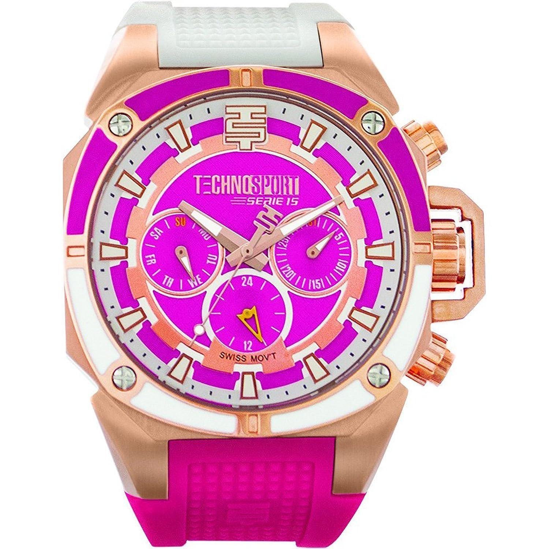TechnoSport Damen Chrono Uhr - HONEY MOON rose gold
