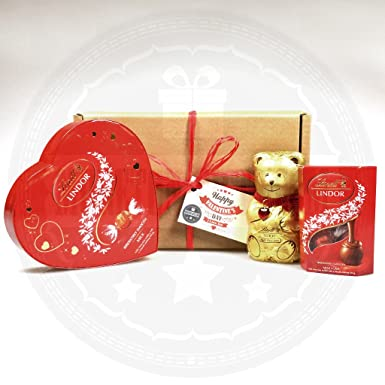 Lindt Chocolate Small Love Box By Moreton Gifts Great Romantic