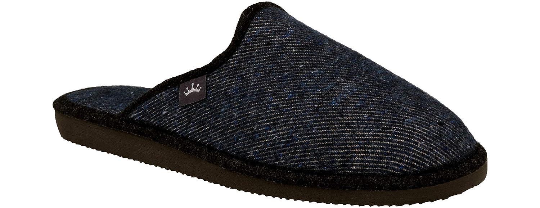 RBJ leather shoes .Chaussons pour Homme en Cuir avec De La Laine De Mouton Naturelle