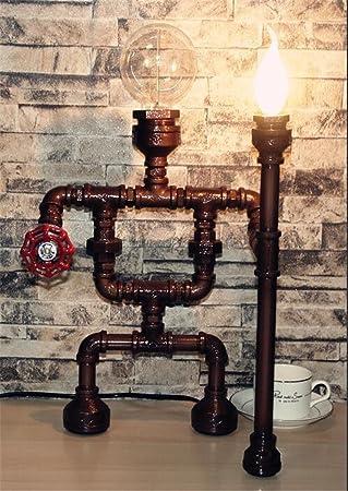MULANG Novel Industrial Vintage Table Light Balcony Bar Cafe Home Dining Reading Bedroom Lighting Decor Desk