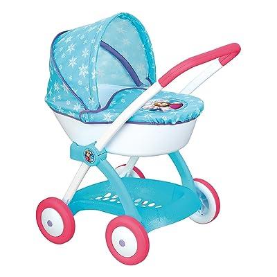 Smoby 254145 Frozen - Cochecito con Capota para muñecas: Juguetes y juegos