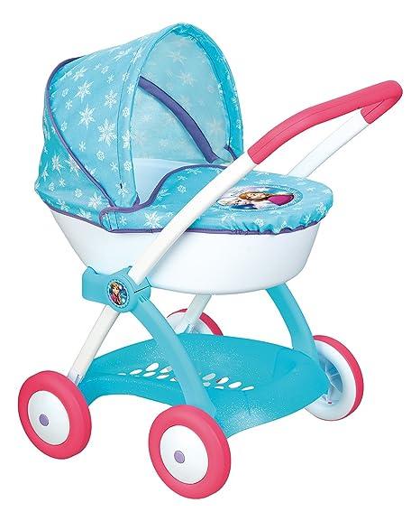 Smoby 254145 Frozen - Cochecito con capota para muñecas