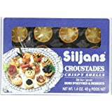 Siljans Croustades (Crispy Shells), 1.4-Ounce Boxes (Pack of 6)