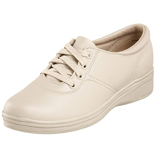 Grasshoppers Women's Ashland Smooth Sneaker,Stone Smooth,5 ...